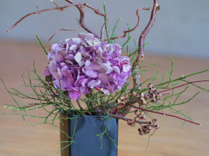 Find Balance with Ikebana Flower Arranging