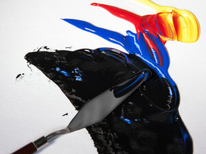Knife Painting Is Just Like Decorating a Cake
