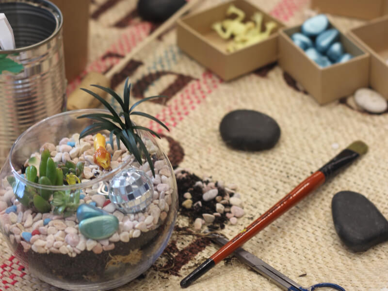 Why a Terrarium Workshop for Sydney Corporates Is a Good Idea