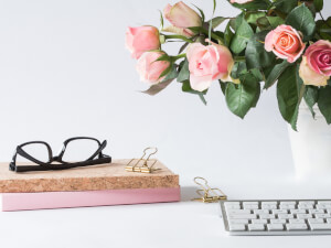 Why Having Flowers on Your Desk Brings More Happiness