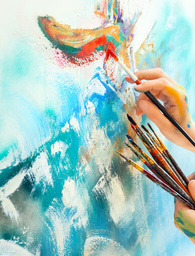 Abstract Art Painting Workshop
