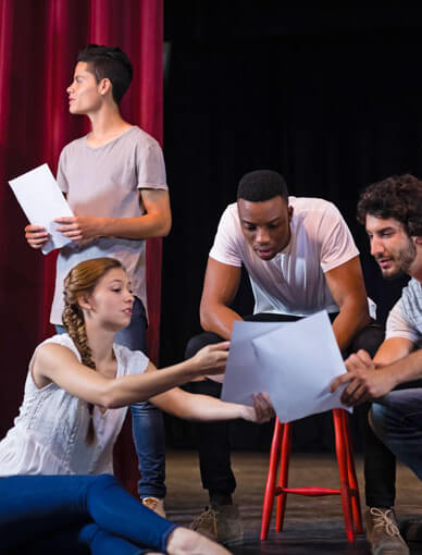 Acting Course for Beginners: the Story