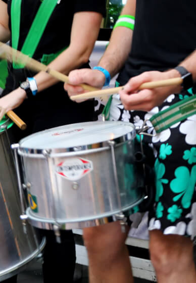 Afro-brazilian Bloco Drumming Workshop