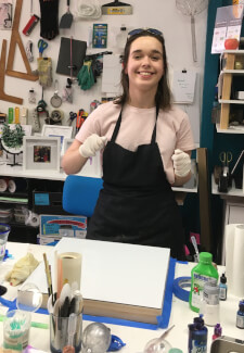 Alcohol Ink Class for Beginners