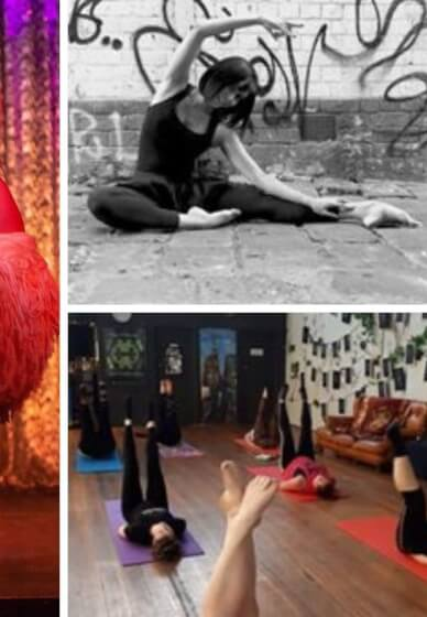 Ballet Fitness Class with Live Music
