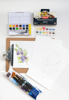 Beginner Watercolour Painting Course
