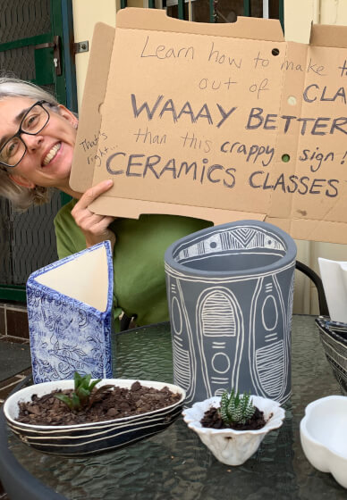 Beginners' and Intermediate Ceramics Courses