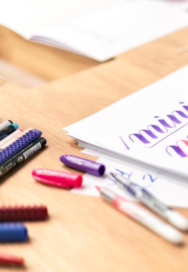 Beginner's Brush Lettering Class