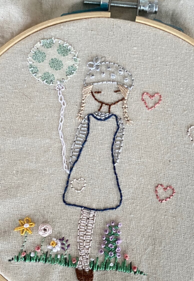Beginners Embroidery Class for Kids