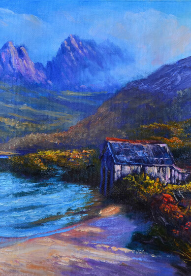 Beginner's Oil Painting Class: the Cradle Mountain