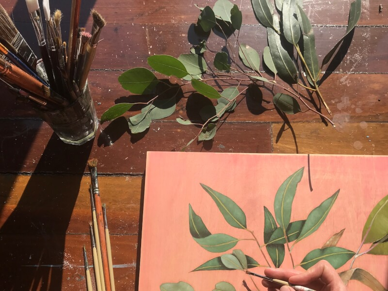 Botanical Sip and Paint Workshop