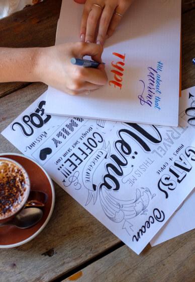 Brush Lettering Workshop - Beginner
