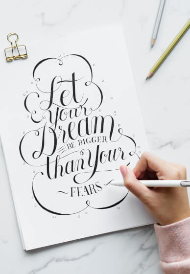 Brush Lettering Workshop for Beginners