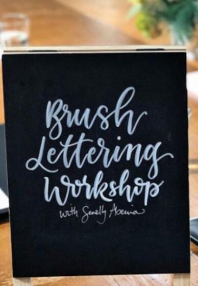 Brush Lettering Workshops