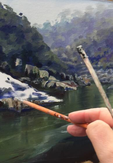Brushwork and Tonal Painting Workshop