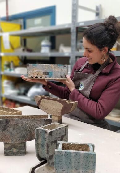 Build a Pot for a Plant Pottery Workshop