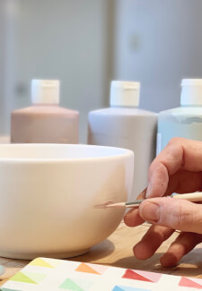 Ceramic Painting Class for Adults