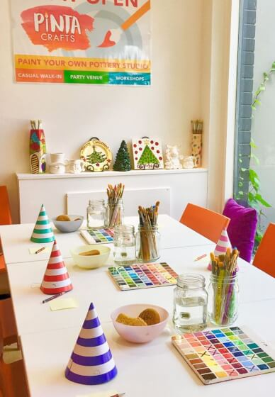 Ceramic Painting Class for Kids