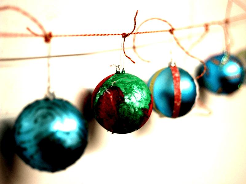 Christmas Bauble Bling