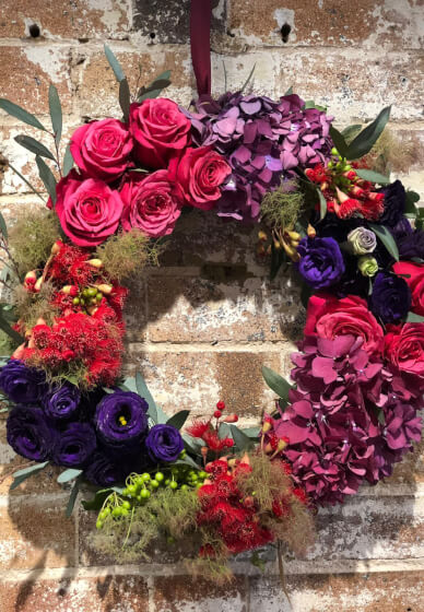 Christmas Table Flower Centrepiece Making Workshop
