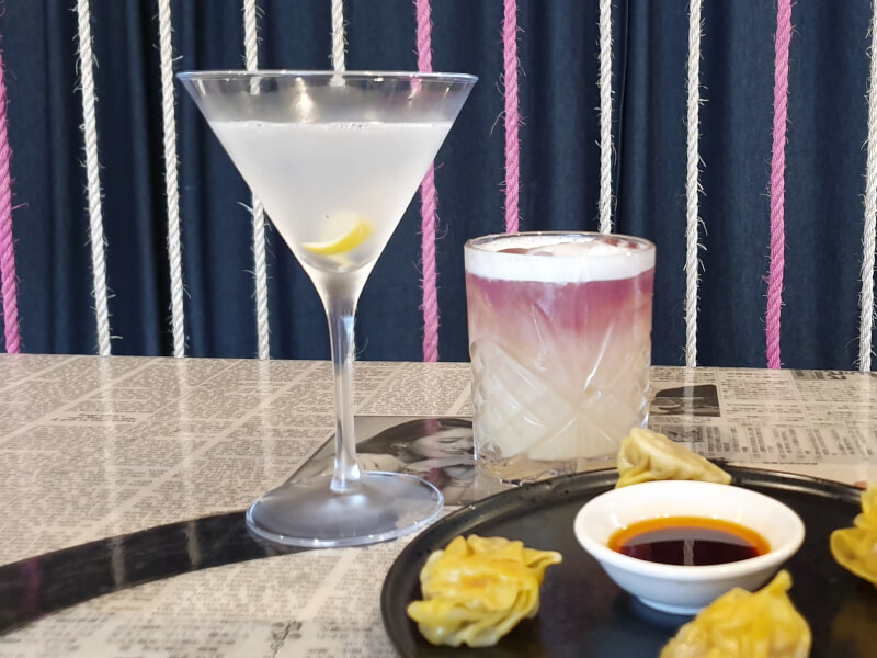 Cocktail and Dumpling Making Class