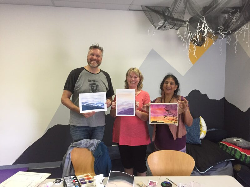 Come Splash with Watercolour! - Painting Class