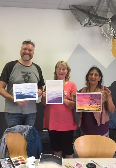 Come Splash with Watercolour Workshop