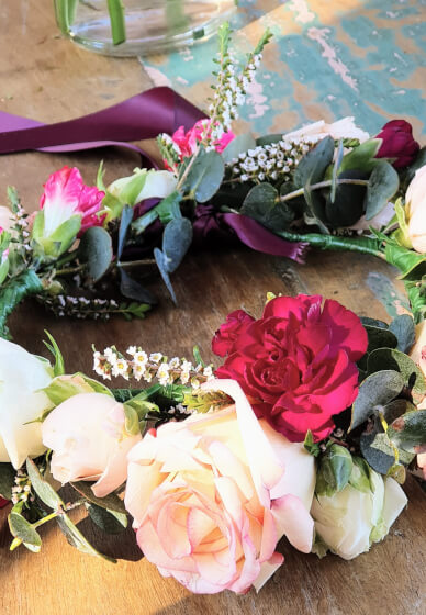 Create and Sip Class - Floral Crowns