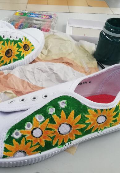 Creative Shoe Painting Workshop
