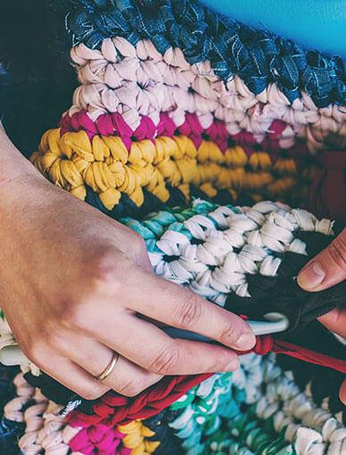 Crochet Course Using T-shirt Yarn
