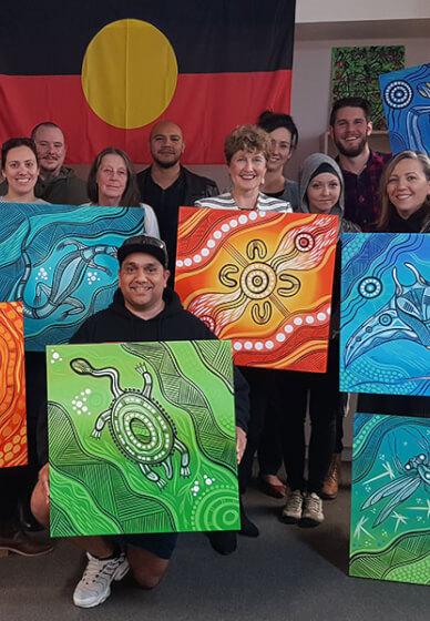 Cultural Awareness and Art Workshop for Teams