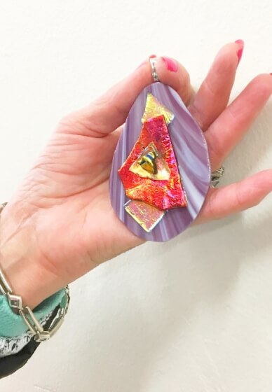 Dichroic Jewellery Making Workshop