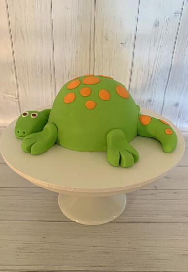 Dinosaur Cake Decorating Class