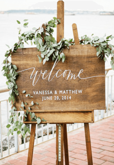 DIY Wedding Signage Workshop