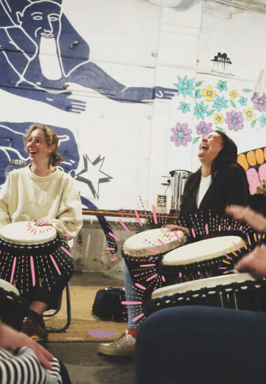 Djembe Drumming Class for Noobs