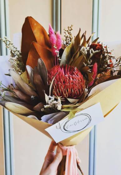 Dried Flower Bouquet Workshop