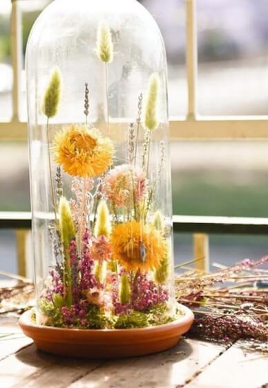 Dried Flower Dome Workshop