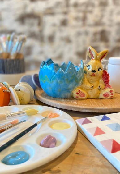 Easter Ceramic Painting Class