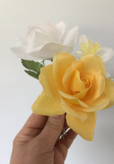 Edible Flowers Workshop: Make Wafer Paper Roses