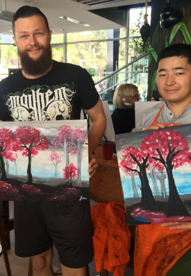 Experimental Painting Workshop