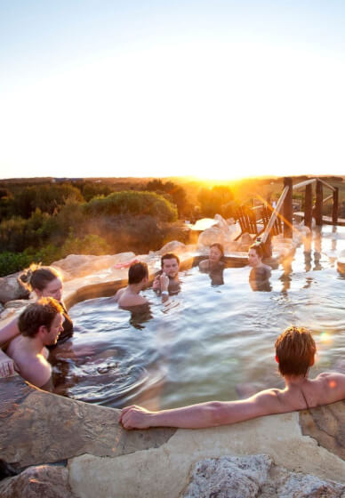 Farmers Lunch and Hot Springs Experience