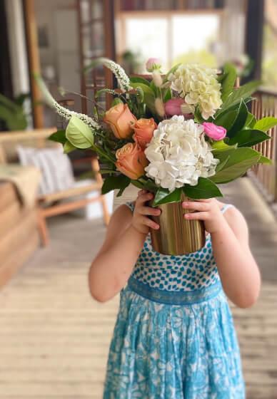 Floral Vase Arrangement Workshop for Mother's Day