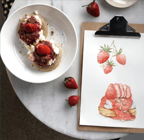 Food and Watercolour Workshop