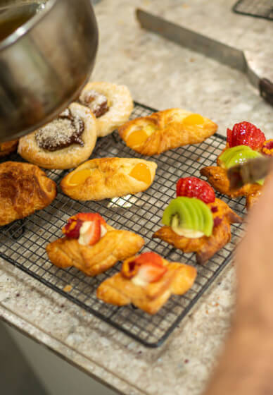 French Croissant Baking Class