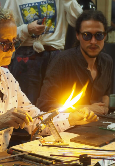 Glass Blowing Workshop for Beginners
