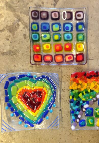 Glass Fusing Class for Kids (10-15 Years)