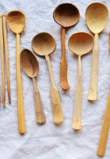 Green Wood Spoon Carving Class