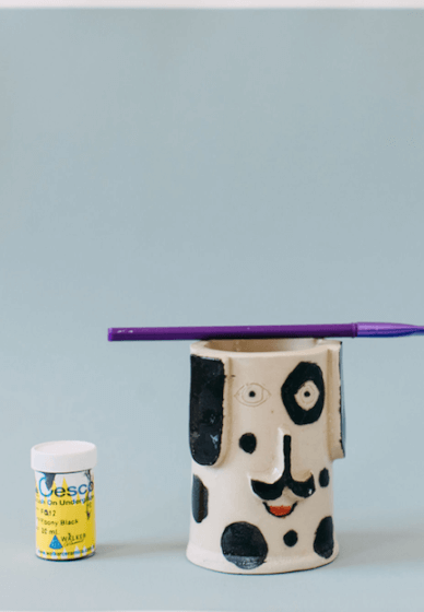 Hand Building Class: Pencil Holder (6-12 Years)