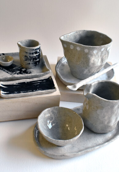 Hand Building Clay Class: Cups and Bowls