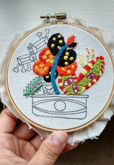 Hand Embroidery Design and Patterns!